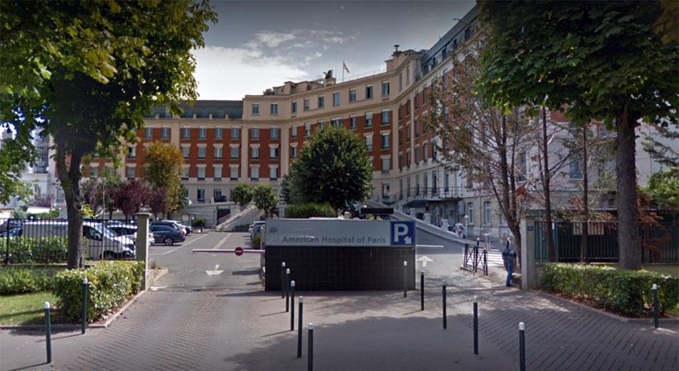 hôpital américain - Dr Ozil à Paris